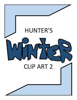 Hunter's Winter Clip Art 2