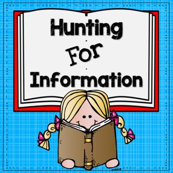 Hunting For Information-A Reference Scavenger Hunt