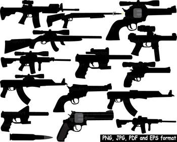 Hunting Gun toy Clip Art community heroes army gun toy pol