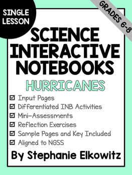 Hurricane Interactive Notebook Lesson (FREE EXCERPT)