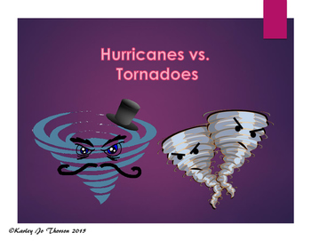 Hurricane and Tornado Venn Diagram