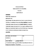 Hurricane by David Weisner Reading Comprehension with Scaffolding