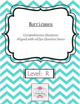 Hurricanes-Comprehension Questions