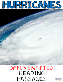 Hurricanes Differentiated Nonfiction Reading Passages