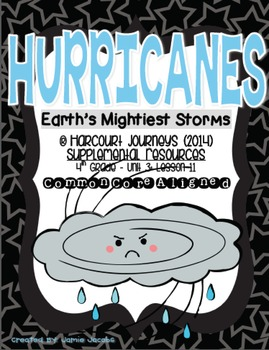 Hurricanes: Earth's Mightiest Storms (Journeys 4th Gr. - S