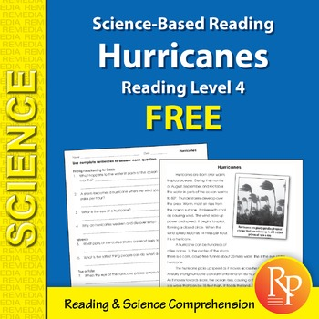 Hurricanes: Science-Based Reading {Freebie}