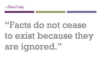 Huxley Quotes
