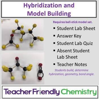 Chemistry Activity: Hybridization and Model Building