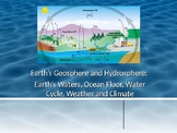 Earth's Waters, Ocean-Floor, Weather & Data Review Q & A(E