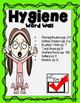 Hygiene Word Wall