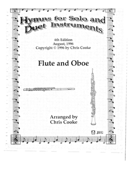 Hymns for Solo and Duet Instruments Flute/Oboe