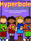 Hyperbole About Me {Hyperbole Activity Pack}