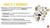 Hyperbole/Figurative Language Mini-Lesson, Demo-Lesson, or