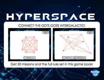 Hyperspace Game - gifted geometry critical thinking proble