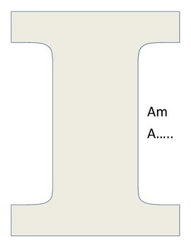 I Am A....