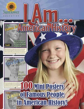 I Am... American History—100 Mini Posters of Famous People