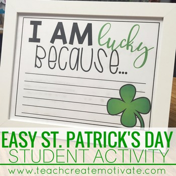 I Am Lucky Because...