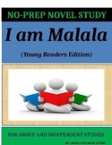 I Am Malala Novel Study Lesson Plans-Malala Yousafzai with