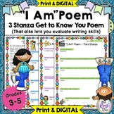 I Am Poem  * Poetry Lesson