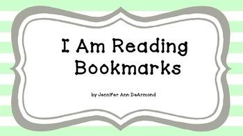 I Am Reading Bookmarks