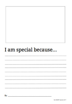 I Am Special Writing Prompt