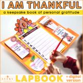 I Am Thankful For Lapbook