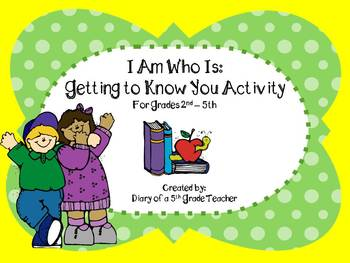 I Am Who Is: Getting to Know You Activity