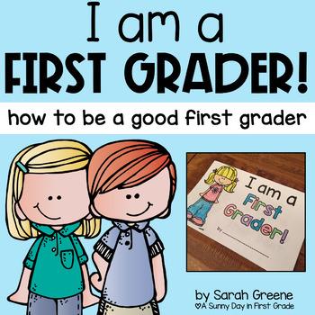 I Am a First Grader! {mini book}