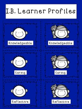 I.B. Learner Profiles