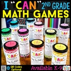 Second Grade Math Games BUNDLE