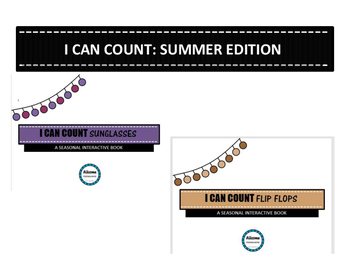 I Can Count Interactive Book- SUMMER EDITION