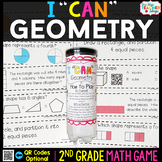 2nd Grade Geometry Game - 2nd Grade Math Game for Math Centers