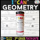 3rd Grade Geometry Game - 3rd Grade Math Game for Math Centers