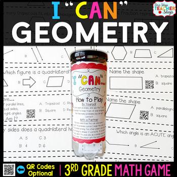 Geometry Third Grade Math Game