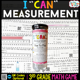 3rd Grade Measurement Game - 3rd Grade Math Game for Math Centers