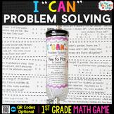 1st Grade Problem Solving Game - 1st Grade Math Game for M