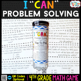 4th Grade Problem Solving Game - 4th Grade Math Game for M