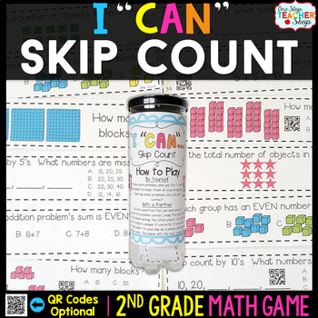 2nd Grade Skip Counting Game - 2nd Grade Math Game for Mat