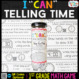 1st Grade Telling Time Game - 1st Grade Math Game for Math