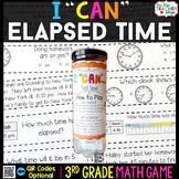 3rd Grade Telling Time & Elapsed Time Game - 3rd Grade Mat