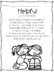 I Can Be Helpful-- building your classroom community