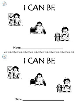 I Can Be - Kindergarten Emergent Reader - Community Helper
