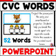 I Can Build CVC Words! POWERPOINT (Elkonin Sound Boxes Activity)