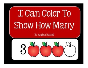 I Can Color To Show How Many ~A Little Fall Math Book