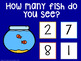 I Can Count Fish Interactive PDF Counting Activity for Spe