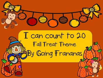 I Can Count to 20 Fall Treat Theme