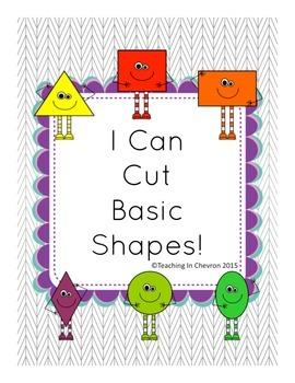 I Can Cut Basic Shapes