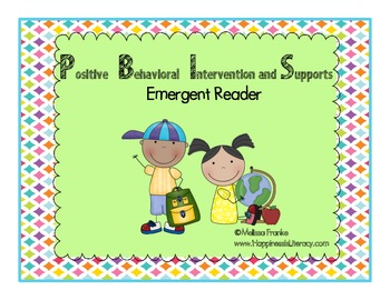 I Can Do It Emergent Reader for PBIS
