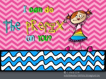 I Can Do The Prefix... Can you?