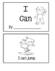 I Can ~ Emergent Reader